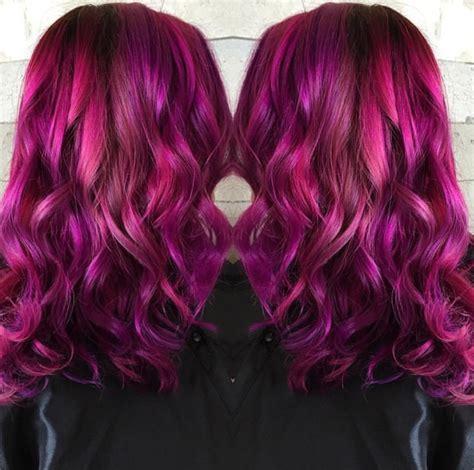 raspberry hair color spectacular raspberry hair color by tara bonhomme