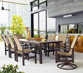 Outside Patio Dining Sets The Top 10 Big Patio Dining Sets Of 2013