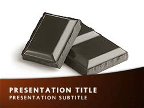 hershey powerpoint template royalty free chocolate powerpoint template in orange