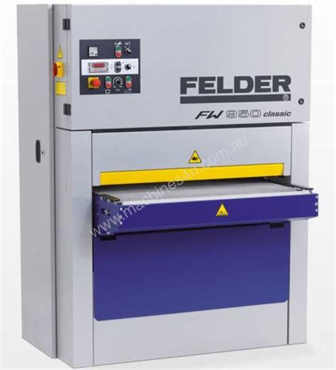 new 2016 felder felder fw950 classic wide belt sander