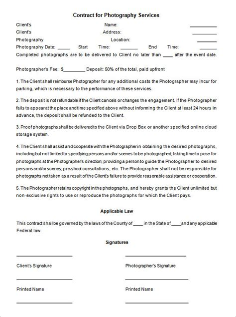 event agreement template event contract template 16 free word excel pdf