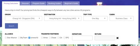Oneworld Frequent Flyer Program Introduces Circle Asia Explorer by How To Easily Compare Award Pricing Across A Range Of