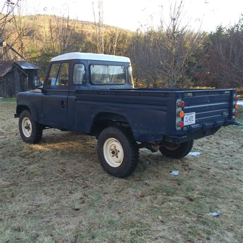 old land rover defender land rover defender 110 hi cap pick up 1985 classic land