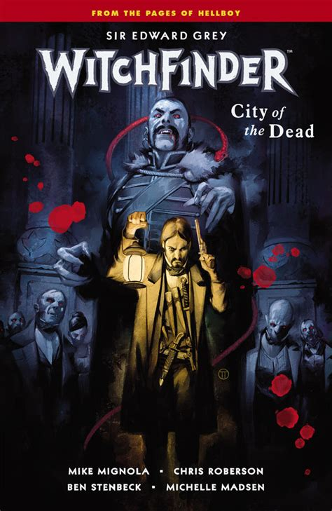 witchfinder volume 4 city of the dead tpb profile dark horse comics