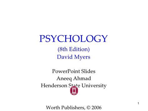 Ap Psychology prologue