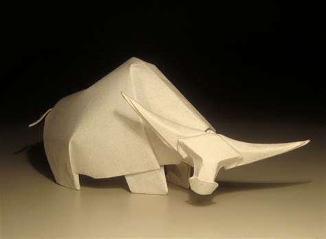Origami Bison - origami works by hoand tien quyet