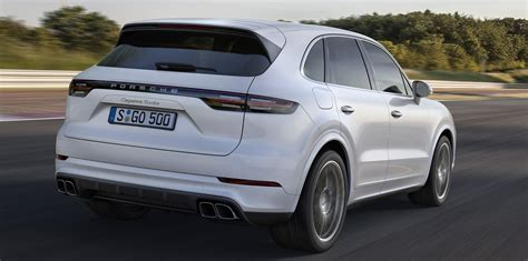 2018 porsche cayenne gts 2018 porsche cayenne turbo revealed here from mid 2018