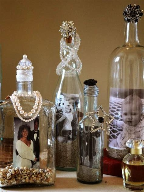 How To Decorate Empty Liquor Bottles how to decorate your bottles into photo frame crafts how to decorate