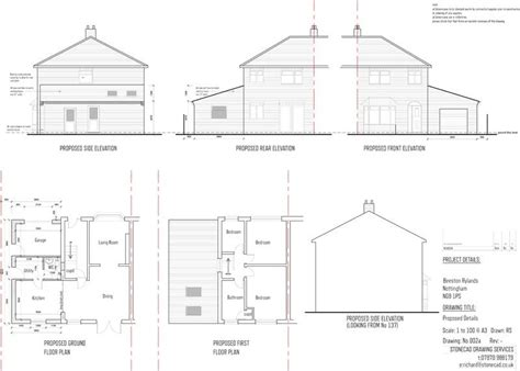 design and build contract planning permission stonecad planning permission drawings architectural