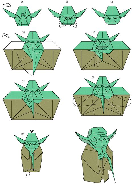 How To Fold The Real Origami Yoda - 1000 images about wars origami on