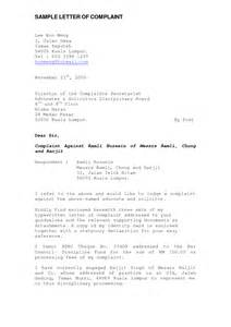 formal letter format sle malaysia