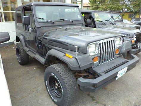 1992 Jeep Wrangler For Sale 1992 Jeep Wrangler For Sale Carsforsale