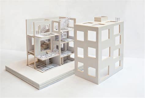 Open Plan h house by sou fujimoto model study portfolio of xinya