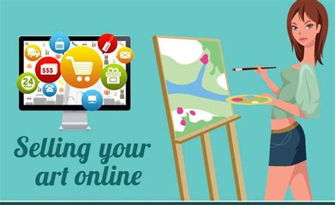 How To Make Money From Your Art Online - 10 ways to make money by selling your art online