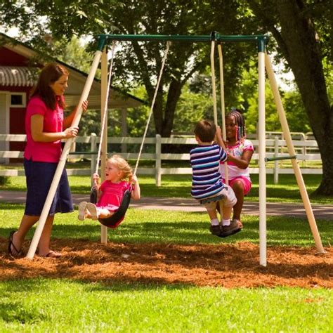 discount swing set gt cheap flexible flyer play now and more swing set with