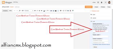 cara membuat blog khusus video cara membuat tautan permanen khusus alfiancmx
