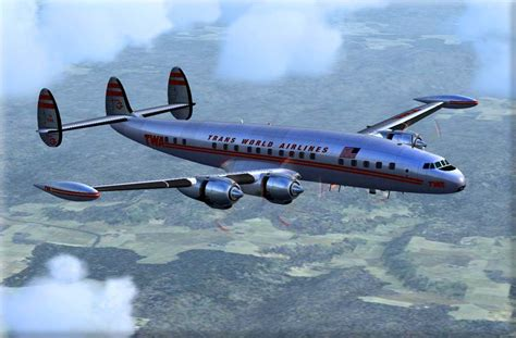 Lockheed L-1049 Super G for FS2004 L 1049