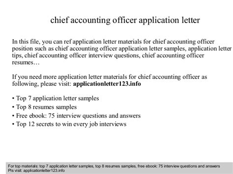 consent letter accounting officer application letter accounting officer 28 images chief