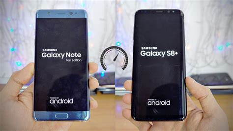 Harga Samsung S8 Arab Saudi samsung galaxy note fe vs galaxy s8 plus speed test 4k