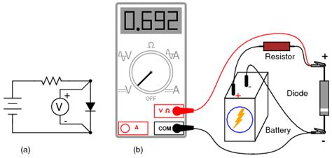 how to test a resistor with digital multimeter lessons in electric circuits volume iii semiconductors chapter 3
