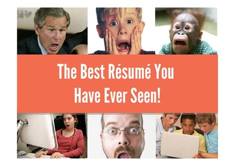 Best Resumes Seen by The Best R 233 Sum 233 You Seen Curriculum