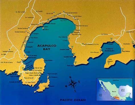 map acapulco mexico acapulco mexico tours and travel guide tour by mexico