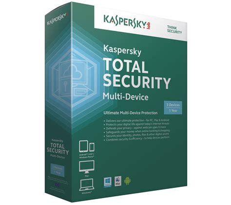 Antivirus Security Kaspersky kaspersky total security multi device deals pc world