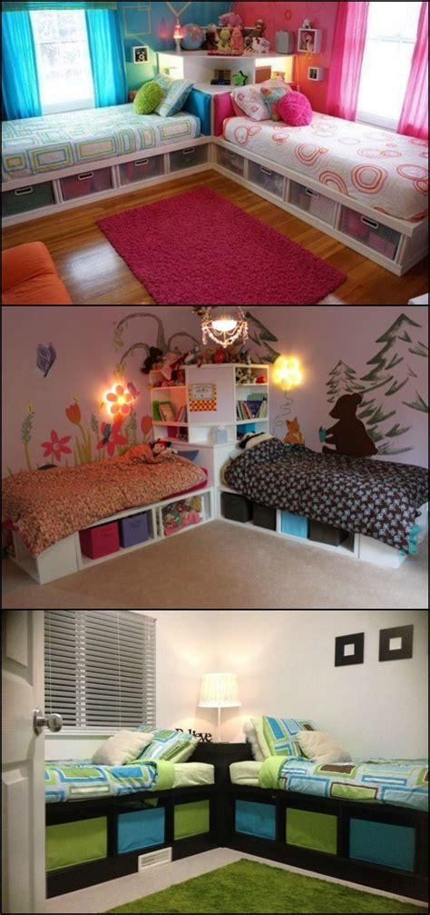 boys bedroom ideas for small spaces how to build twin corner beds with storage corner beds