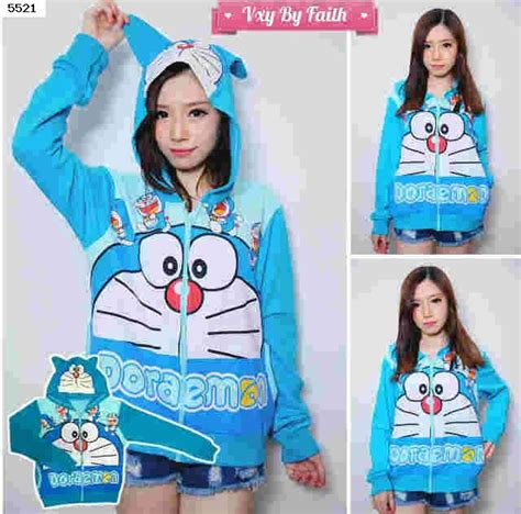 Set Baju Jaket Doraemon Kid Jual Jacket Sweater Jaket Hoodie Doraemon 5521