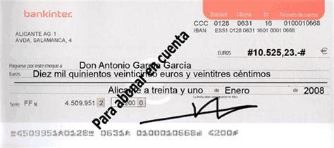 pagare conformado por el banco variedades de cheque