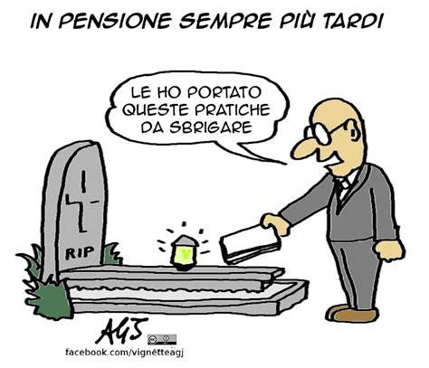 inps ufficio pensioni vignette di agj miraggio pensioni