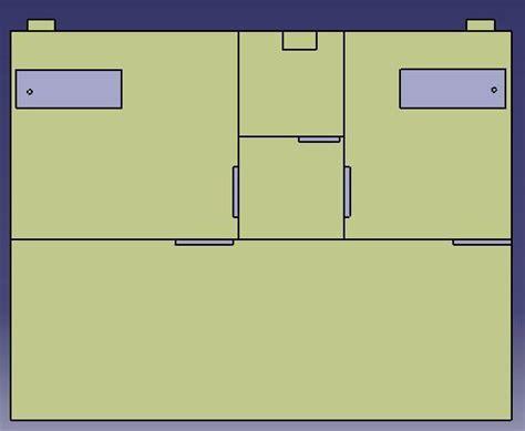 aiir room negative pressure room ventilation system design with simulation