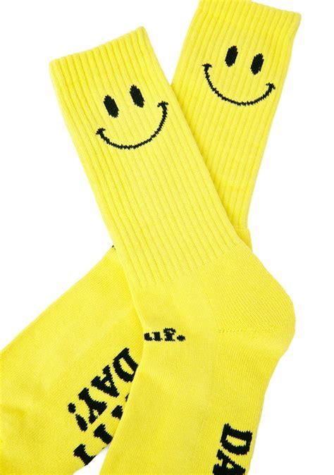 Smile Socks huf smiley crew sock dolls kill