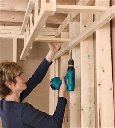 Building a Soffit   Framing Basics   Drywall Installation