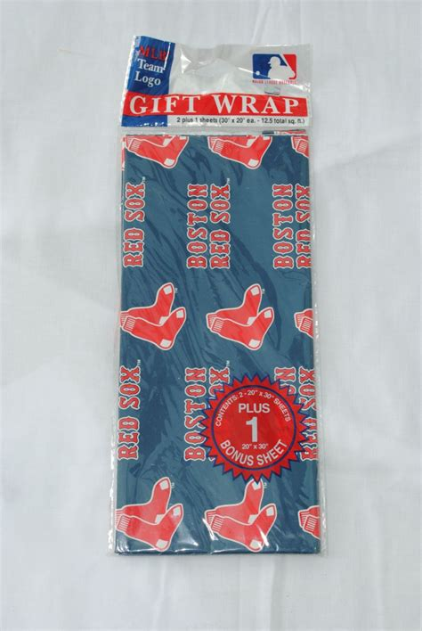 Boston Red Sox Gift Card - boston red sox gift wrap