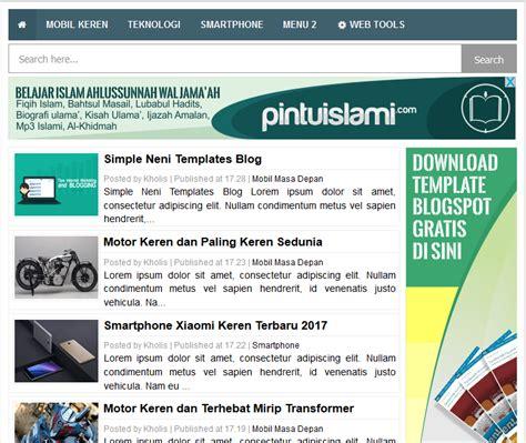 adsense blogger simple neni high ctr responsive blogger template