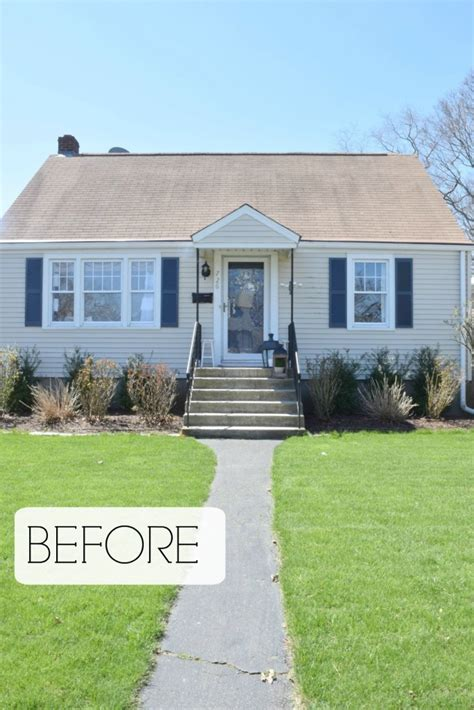 how to update your house curb appeal diy details nesting with grace