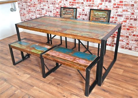 Kitchen Table Sale Uk by Rustic Wood Farmhouse And Industrial Dining Tables