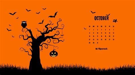 Calendar October 2017 Wallpaper October 2017 Calendar Wallpaper For Desktop Background