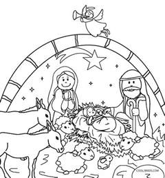 christmas manger scene coloring pages galleryhip hippest galleries