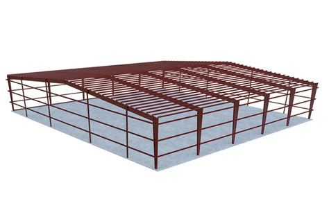 metal building cost per square foot general steel 40x100 metal building packages quick prices general