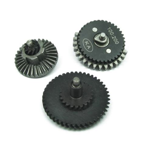 King Arms High Torque Helical Steel Gear Set For V2v3 Aeg king arms high torque helical gears set