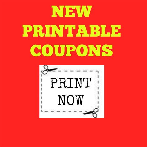 printable coupons uk only new printable coupons
