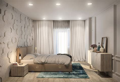 Parents Bedroom Design Two Efficient Apartments For Families With Two Children