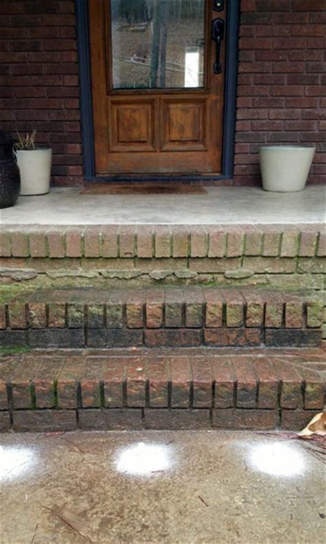 how to fix a sinking front porch sinking concrete patio stoop repair polylevel 174