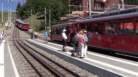 ferrovia a cremagliera ferrovia vitznau rigi kulm cremagliera zahnradbahn