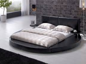 King Platform Beds - 13 unique round bed design ideas