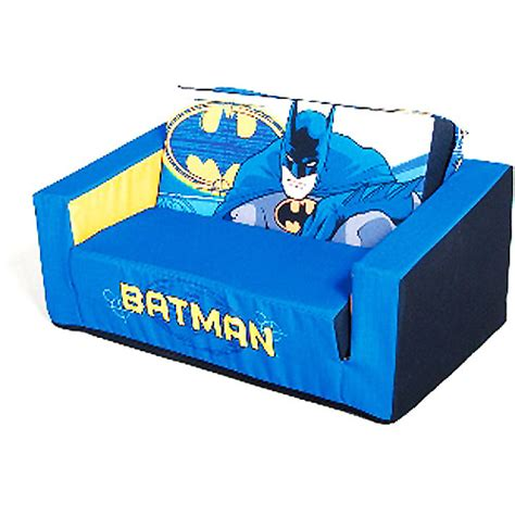batman sofa new batman kids boys flip open couch sofa bed sleeper ebay