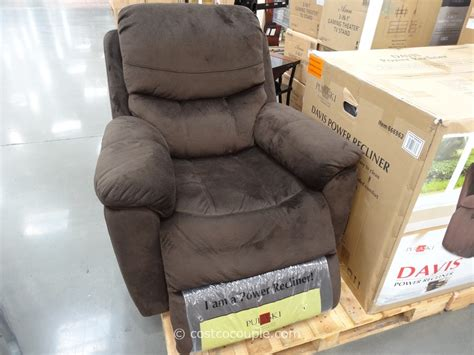 Power Recliners Costco by Pulaski Davis Fabric Power Recliner