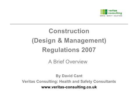 Design Management Regulations | construction design and management regulations cdm2007